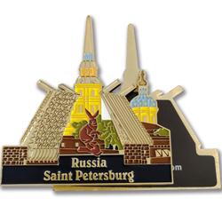 俄罗斯圣彼得堡冰箱贴纪念