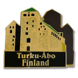 souvenir fridge magnet, Turku-Abo