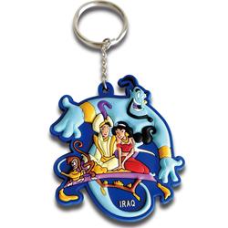 Promotional 3D cartoon keychain