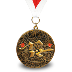 summer sport award medal