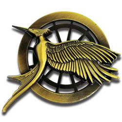 hunger game pin badge