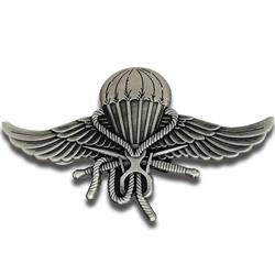 3D wings pin badge