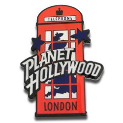 Hollywood ad pin badge