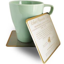 定制钛合金杯垫,镀金色