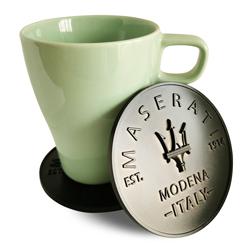 玛莎拉蒂促销性杯垫,圆形