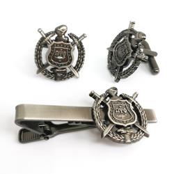 business cufflinks tie clip