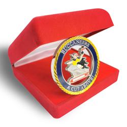 Buccaneers challenge coin, custom