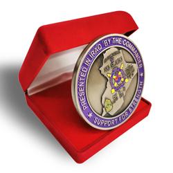 Iraq nation map coin design