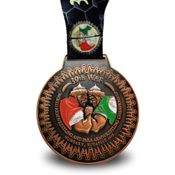 Hungary armwrestling medal